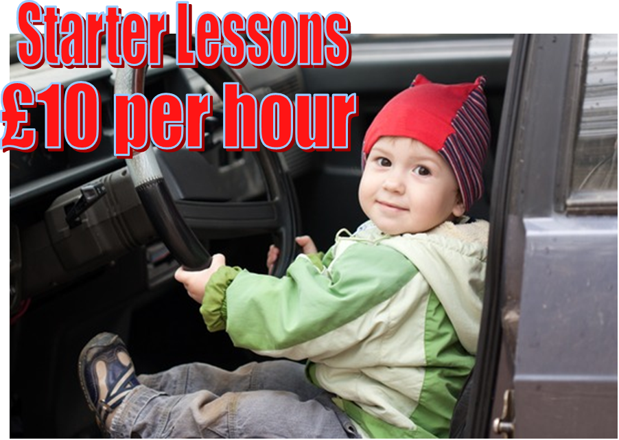 Starter driving lessons