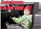 Starter driving lessons